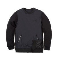 Tech Fusion Crewneck Black