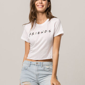 FRIENDS Womens Crop Tee