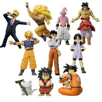 Bandai Dragon Ball Z Super Modeling Soul Of Hyper Figuration Part 10 9 Color 9 Monochrome 18 Figure Set