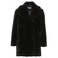 carven - faux-fur jacket