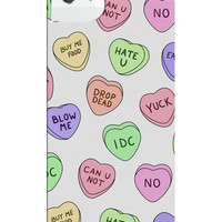 CONVERSATION HEARTS IPHONE CASE - PREORDER