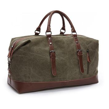 MARKROYAL Leather duffle bag