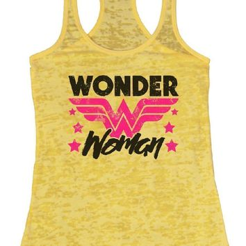 WONDER Woman Burnout Tank Top By Funny Threadz