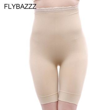 FLYBAZZZ Seamless Shapewear Tummy Control Shorts Panties Women Slimming   Postpartum High Waist Abdomen Body Shaper Underwear