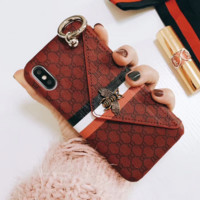Gucci Fashion Print Bee iphone 8 8plus iPhone6 6s 6plus 6s-plus iPhone 7 7plus iPhone Phone Cover Case