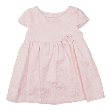 Baby Bol Baby Girls' Flower Embroidered Dress