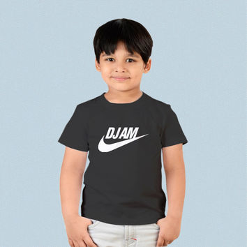 Kids T-shirt - DJ AM Parody Logo