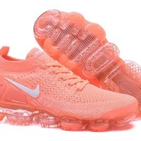 DCCK2 N344 Nike Air Vapormax Flyknit 2 Casual Running Shoes Orange
