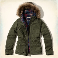 Twill Flannel Lined Jacket