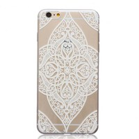 Ultrathin Transparent Lace iPhone 5se 5s 6 6s Case Originality Cover Gift-170928