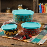 The Pioneer Woman Flea Market 6-Piece Storage Container Set - Walmart.com