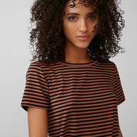 Striped Skimming Tee
