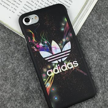 Nike Adidas 2018 Hot ! Popular Women Men iPhone 7 iPhone 7 plus - Stylish Cute Luminous On Sale Hot Deal iphone Matte Couple Phone Case For iphone 8 8 6plus