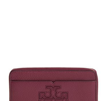 Tory Burch 'Harper' Leather Zip Continental Wallet | Nordstrom