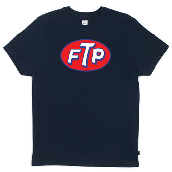HUF - FTP TEE // DENIM HEATHER
