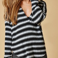 Honey Punch V-Neck Pullover Sweatshirt at PacSun.com