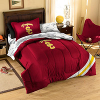 USC Trojans NCAA Bed in a Bag (Twin)