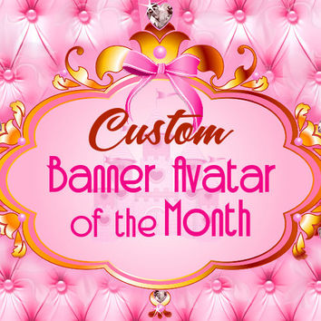 Banner of the Month Club - Etsy - Zibbet - Artfire - Holiday - Halloween - Christmas - digital - Easter - Valentine's Day -