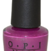 Women OPI Nail Lacquer # NL E50 Pamplona Purple Nail Polish