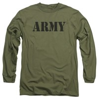 Army - Army Long Sleeve Adult 18/1