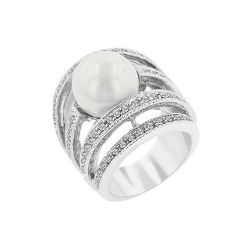 Pearl of Wisdom Ring - Similar to Cartier