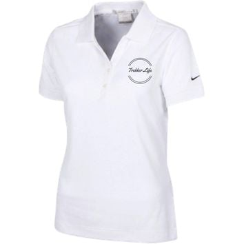 TL World 1 Ladies Nike? Dri-Fit Polo Shirt