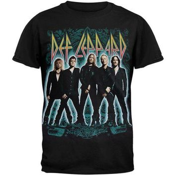 PEAPGQ9 Def Leppard - Stance 2012 Tour T-Shirt