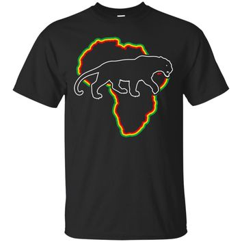 Black Panther Africa Graphic Tee