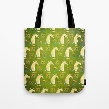 Flowers & Unicorns Tote Bag by That's So Unicorny