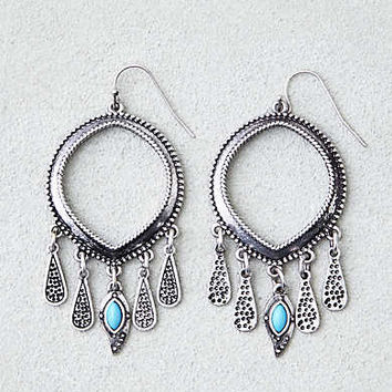 AEO BOHO HOOP CHANDELIER EARRINGS