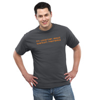 Uncertain About Quantum Mechanics T-Shirt - Black,