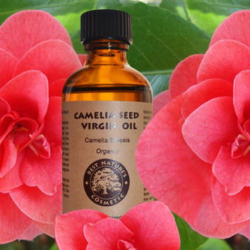 Camellia Seed Oil (Organic, Cold Pressed) for silky, smooth skin and hairs