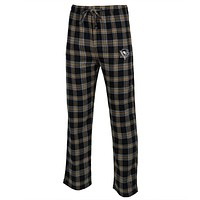 Pittsburgh Penguins - Logo Plaid Lounge Pants