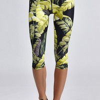 Safari Palm Power Pant (Capri)