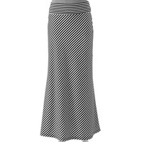 Lily Rose Fold-Over Maxi Skirt - Juniors