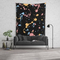 Spatter Wall Tapestry by duckyb