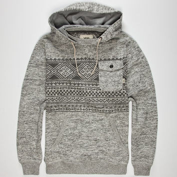 Vans Flurry Ii Mens Hoodie Heather Grey  In Sizes