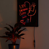 LED Color-Changing Message Board | Urban Outfitters