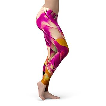 Liquid Abstract Paint V15 - All Over Print Womens Leggings / Yoga or Workout Pants