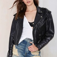Vintage Rough Rider Leather Moto Jacket