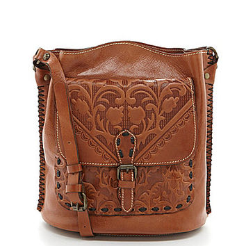 Patricia Nash Folklore Artisan Lavello Sling Cross-Body Bag - Florence