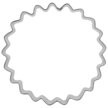 Scallop Circle Cookie Cutter