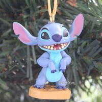 Licensed cool 2017 Custom Disney Lilo & Stitch Alien Experiment 626 Christmas Ornament PVC NEW