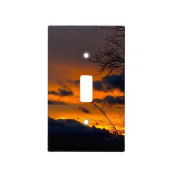 Sunset Light Switch Cover