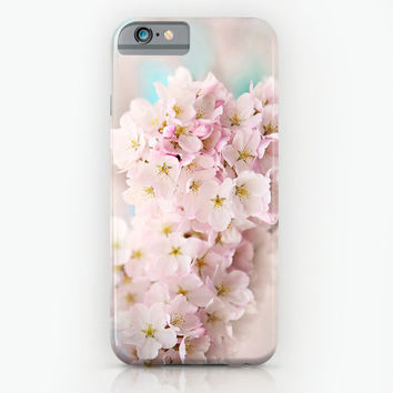 Cherry blossom case, Samsung S3,S4,S5, iphone 4,5,6 case, ipad hard case, floral, pastel case, flowers, girly