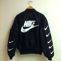 Nike x Alpha Industries MA-1 Trending Bomber Jacket G