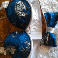 star wars inspired bra set or just bra