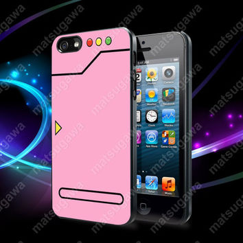 Pokedex Pink Case For iPhone 5, 5S, 5C, 4, 4S and Samsung Galaxy S3, S4