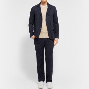 Our Legacy - Archive III Unstructured Crinkled Wool Blazer | MR PORTER