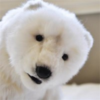 Polar Bear | Hansa Stuffed Animal | Hansa Polar Bear | Toys That Teach